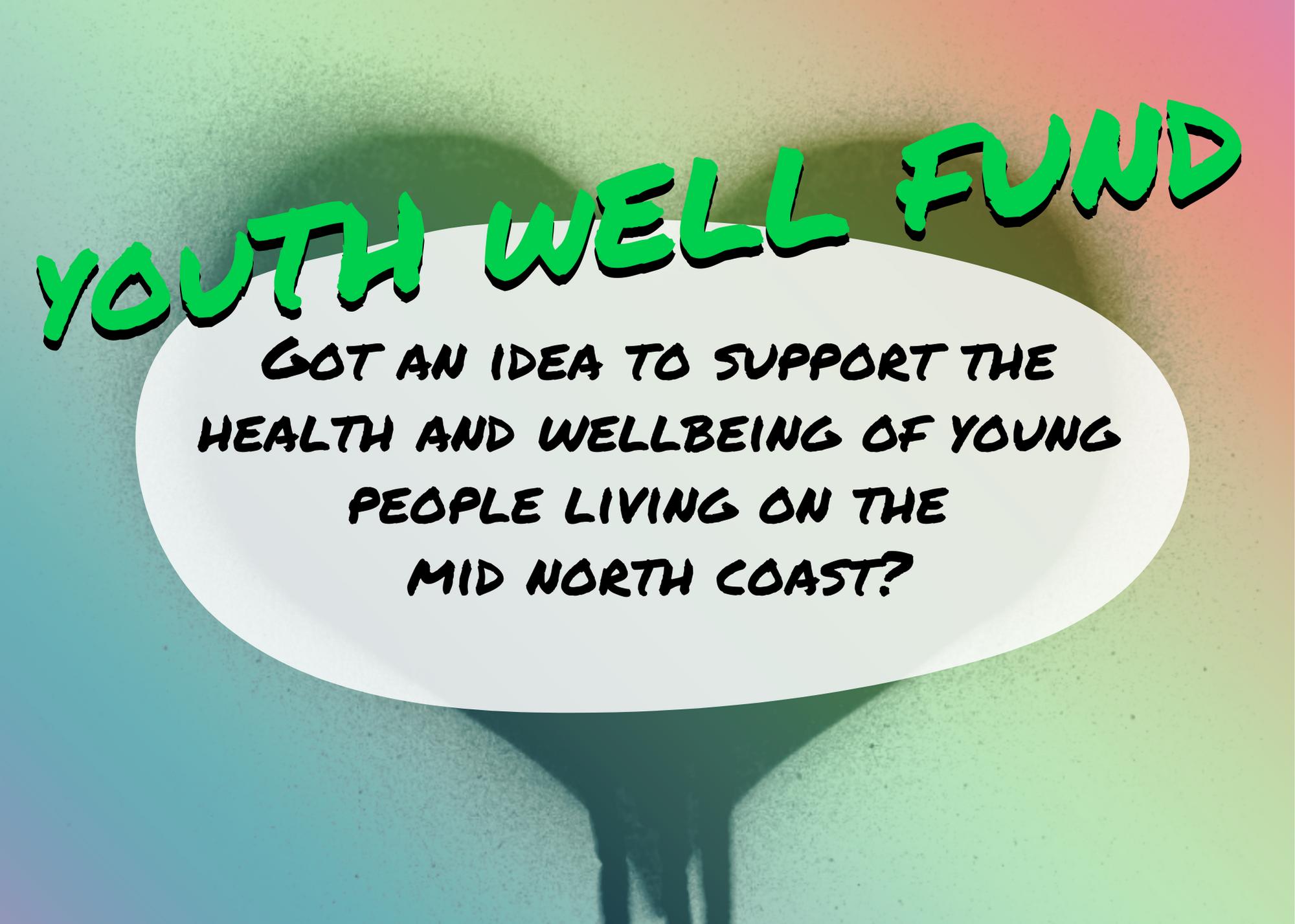 Youth Well Fund - got an idea?